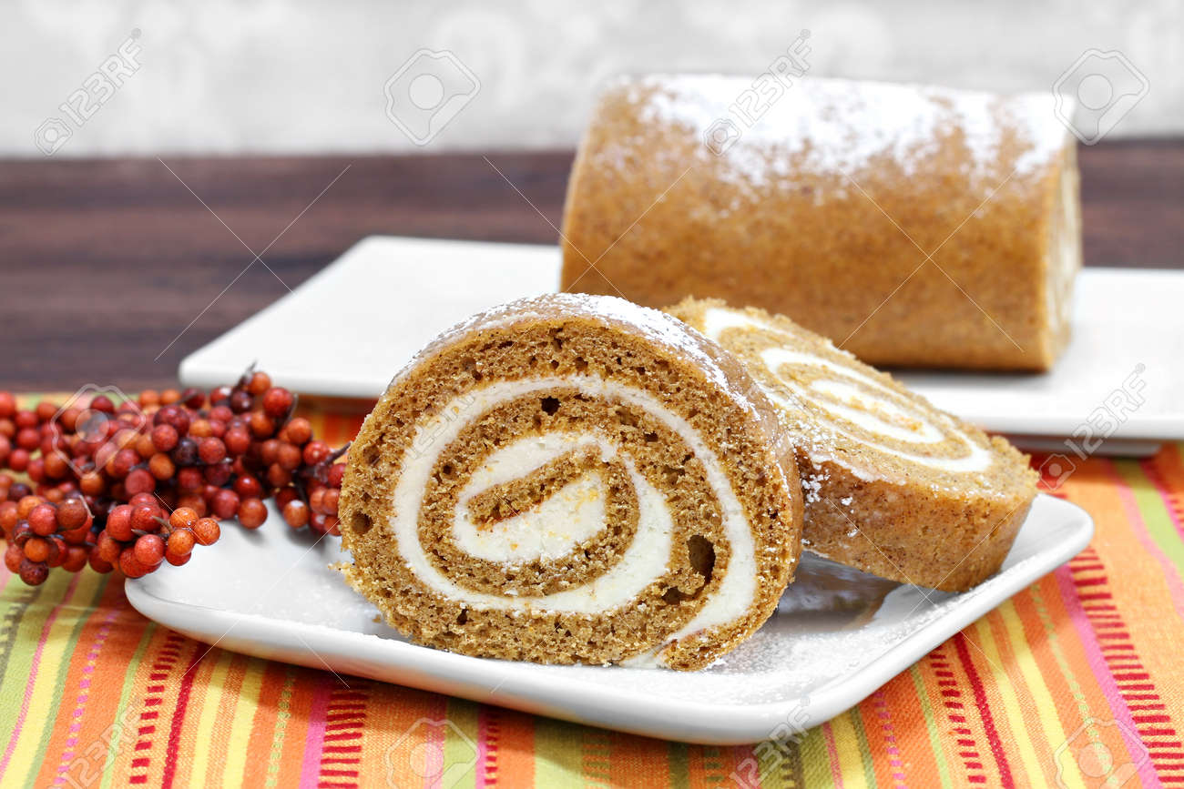 Kuchen Herbst Stock Photo