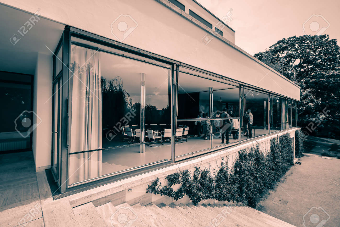 Villa Tugendhat Villa Tugendhat In Brno Czech Republic