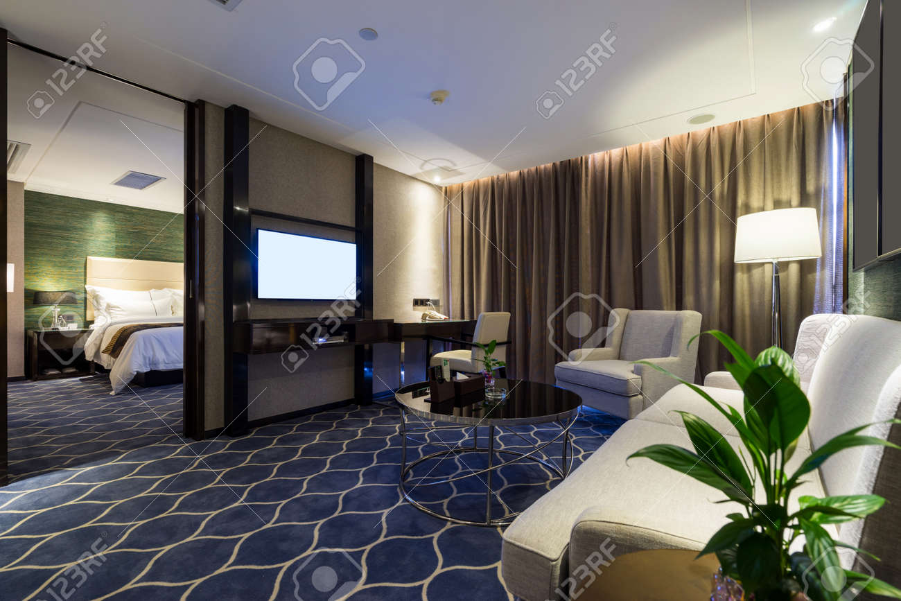 Decoration Hotel Luxury Hotel Room With Decoration