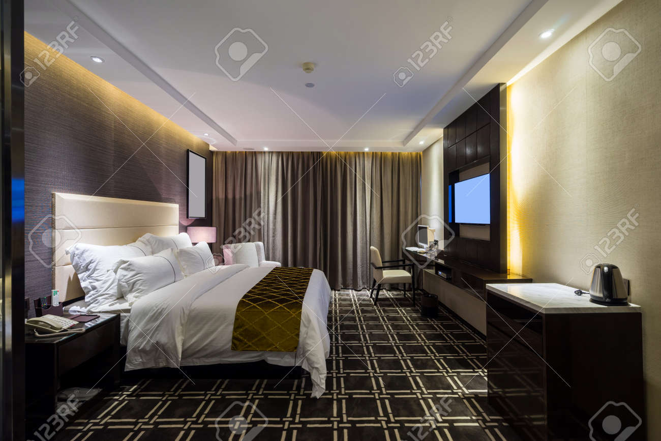 Decoration Chambre Hotel Luxury Hotel Bedroom With Nice Decoration
