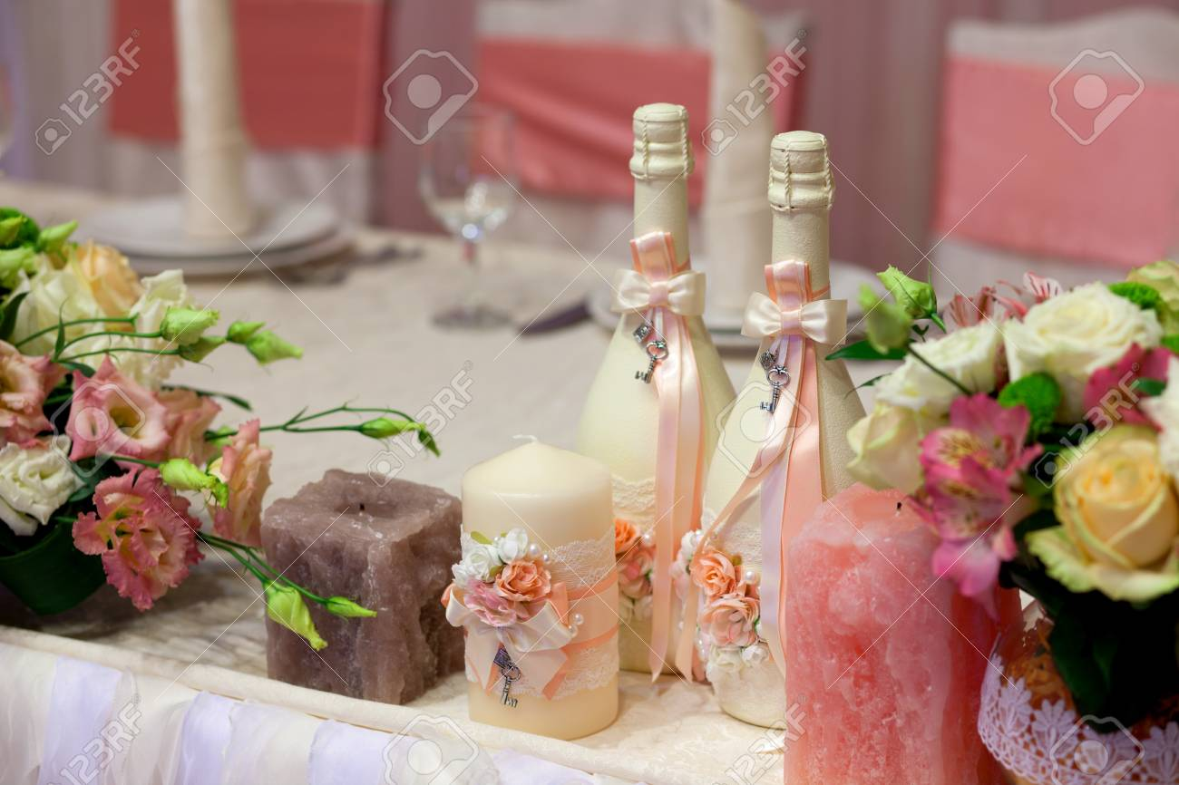 Botellas De Vidrio Decoradas Para Boda Image Of Decoraciones De Boda En Botellas Decoración Boda Barata