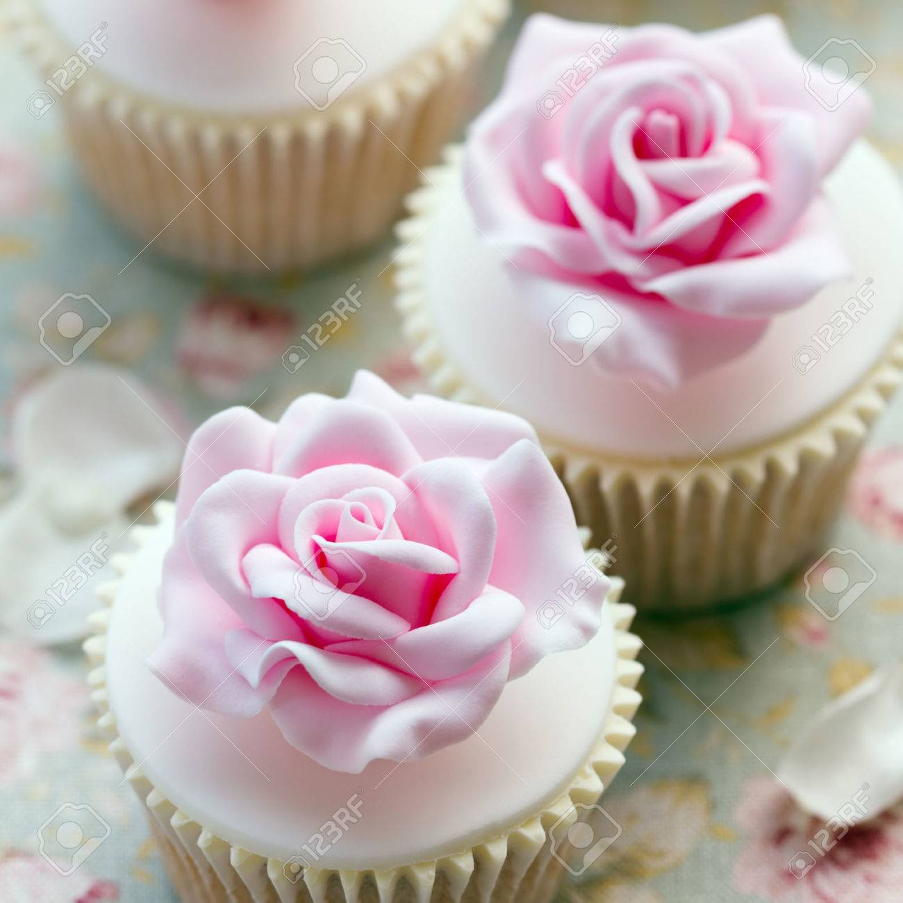 Hochzeit Cupcakes Rose Cupcakes For A Wedding