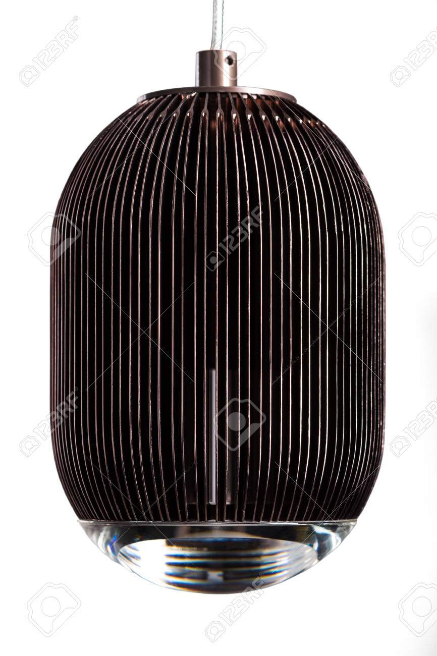 Braune Lampe Stock Photo