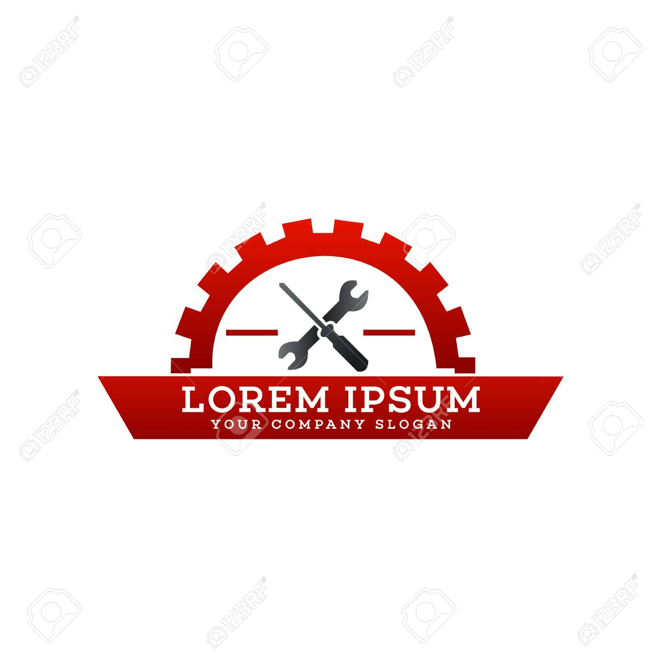 Garage Design Template Automotive Repair Logo Garage Logo Design Concept Template