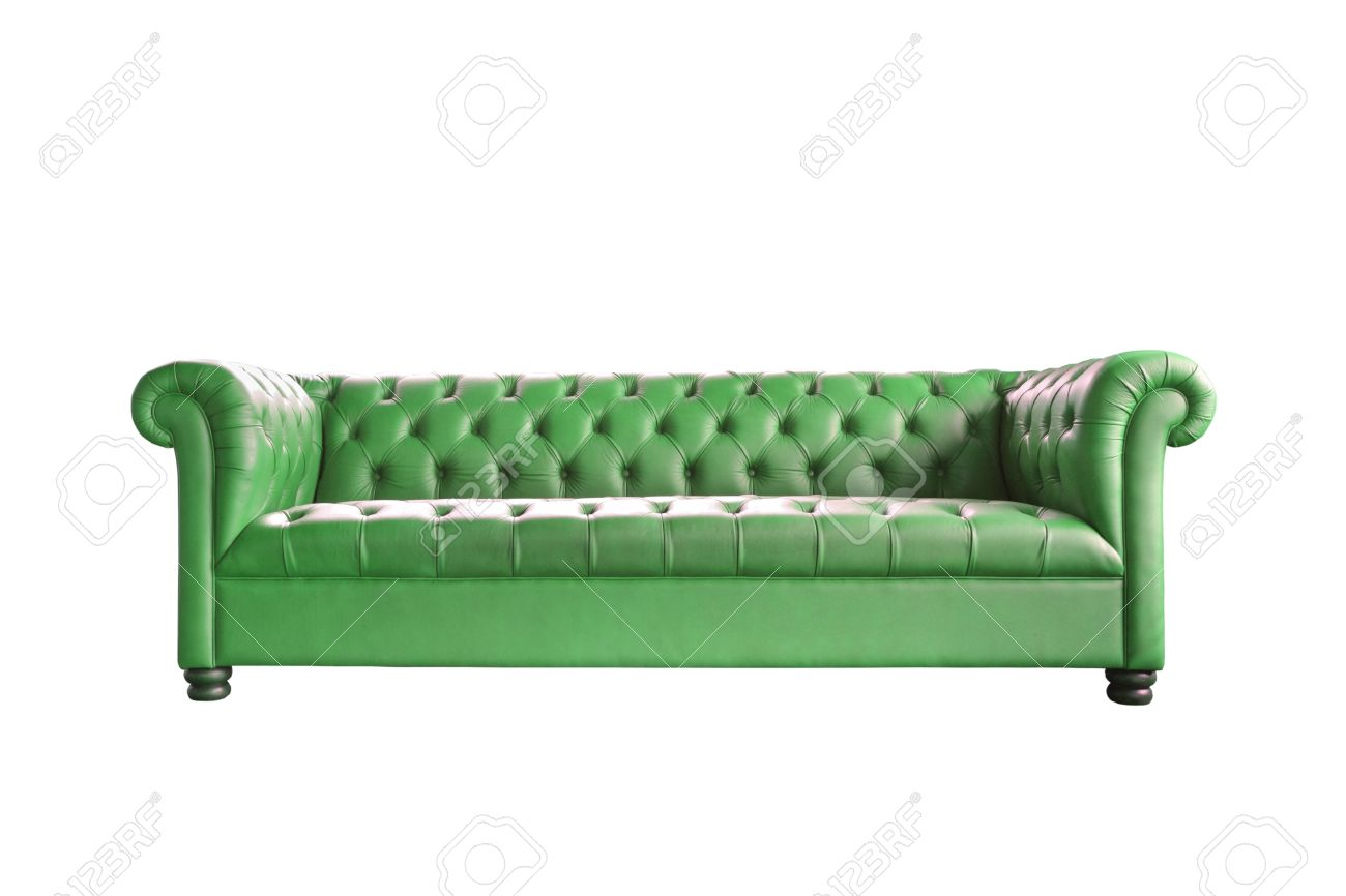 Sofa Cama Vintage Single Vintage Style Sofa Isolated On White Background