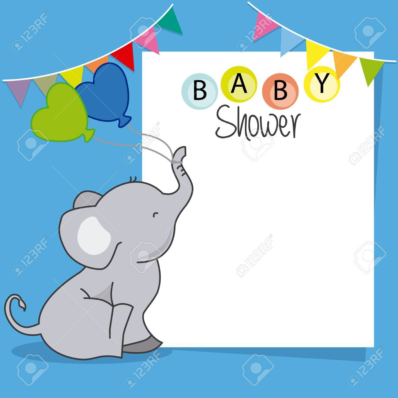Babyparty Junge Stock Photo