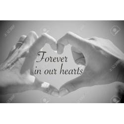 Small Crop Of Forever In Our Hearts