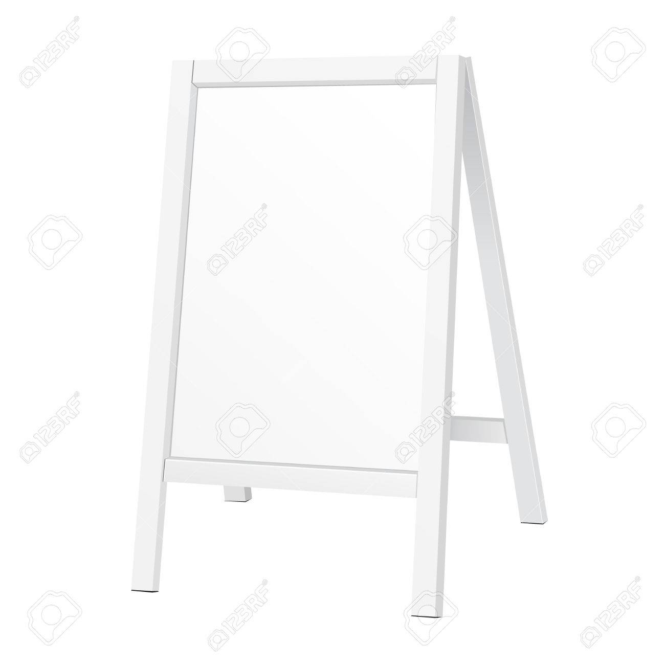 Whiteboard Ständer Outdoor Indoor Stander Advertising Stand Banner Shield Display
