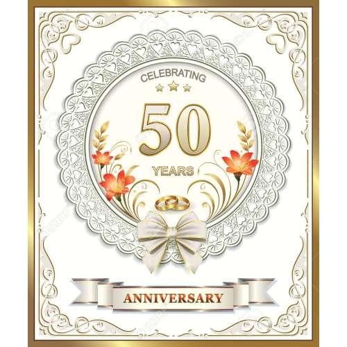 Medium Crop Of 50th Wedding Anniversary