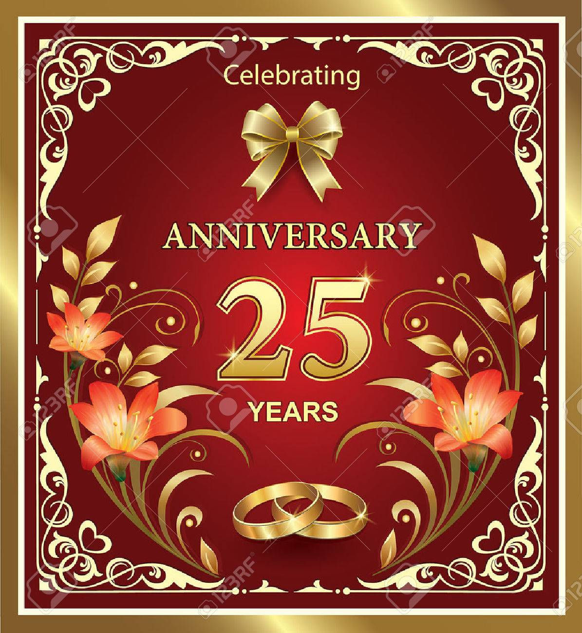 happy 25rd marriage anniversary quotes wishes on pics 25th wedding anniversary
