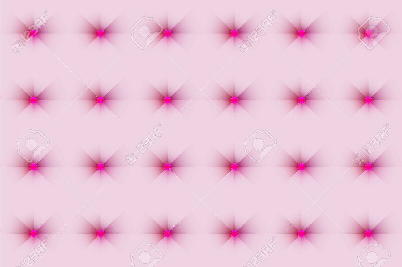 Sofa Texture Vector Pastel Pink Silky Sofa Texture Background With Glossy Button Tufted