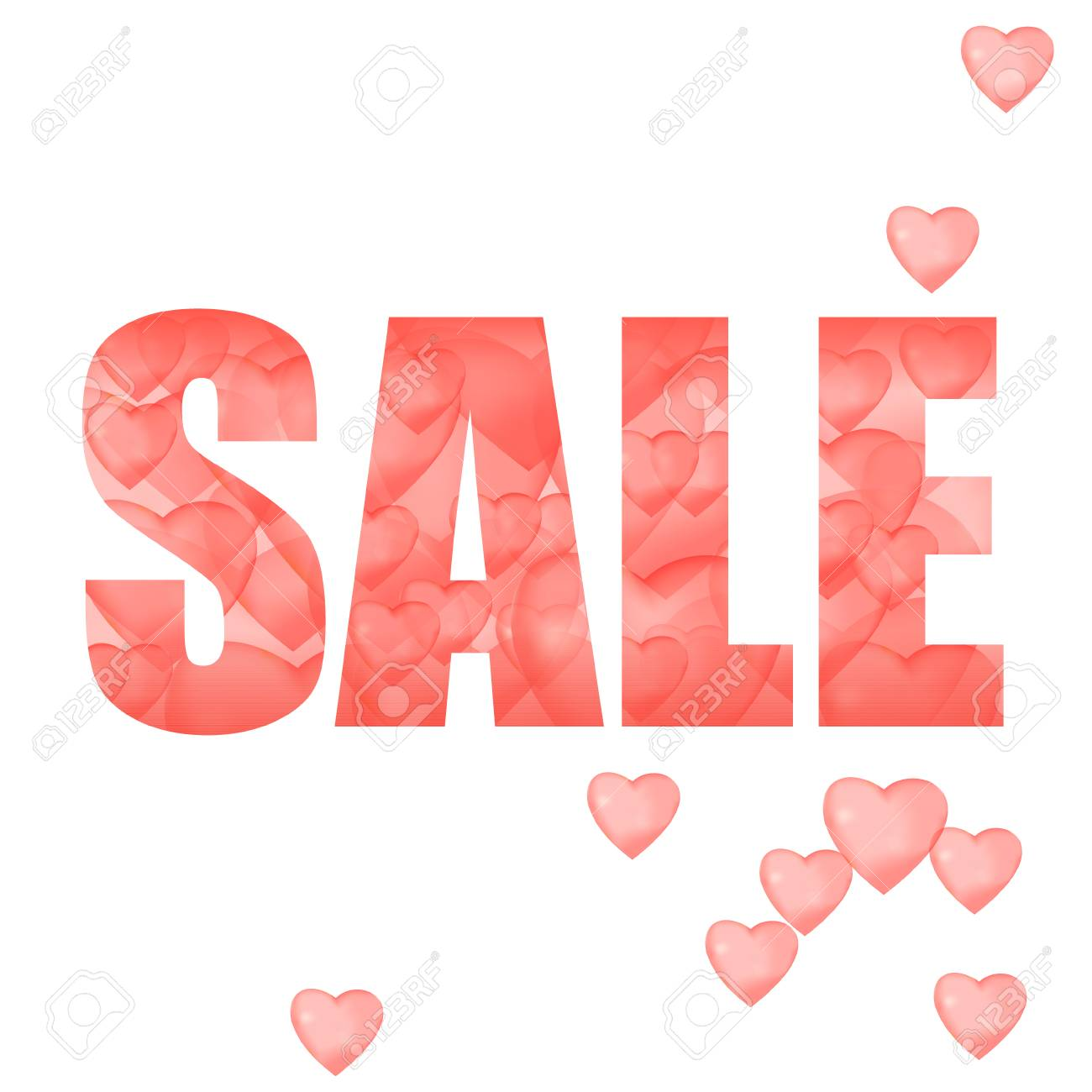 Store Banne Discount Banner About Sales And Discounts Valentine S Day Red Inflatable