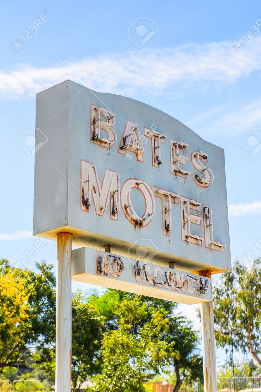 Hollywood Motel Los Angeles Usa Sep 27 2015 Bates Motel At The Universal