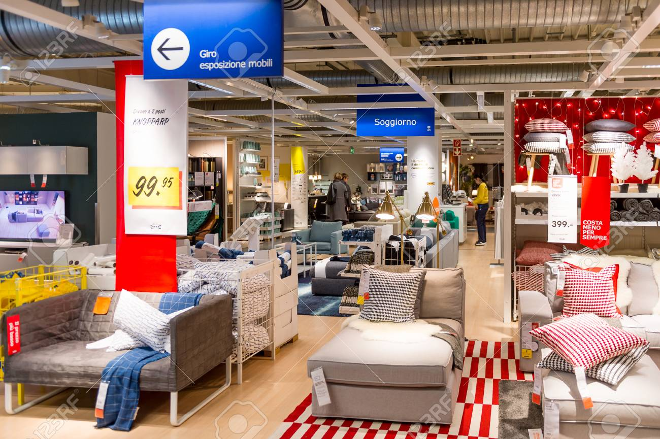 Mobili Soggiorno Ikea 2017 Lugano Switzerland Nov 4 2017 Interior Of The Ikea Shop In