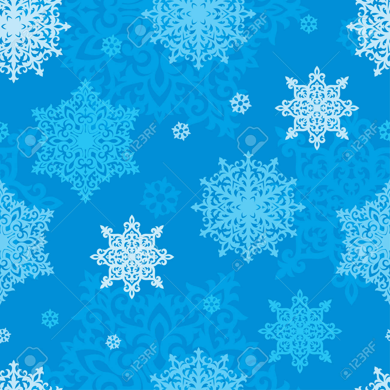 Christmas Background Gif Vector Seamless Pattern Of Snowflakes New Year Or Christmas
