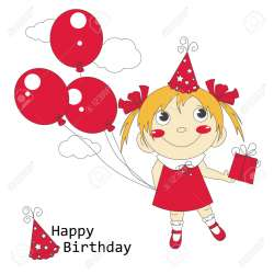 Small Of Happy Birthday Girls