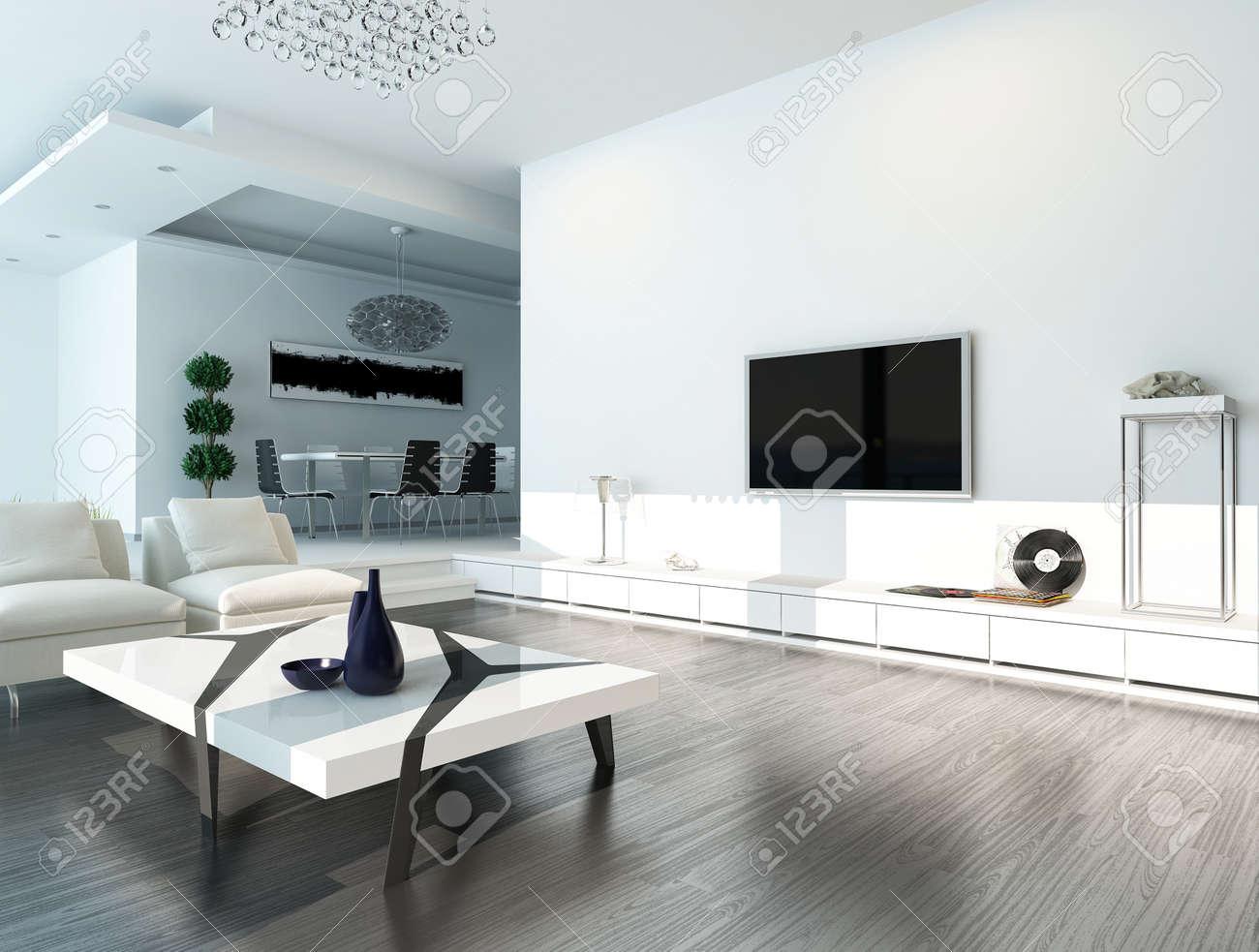 Idee Salon Noir Et Blanc Salon Id Es D Int Design Idee Deco Salon ...