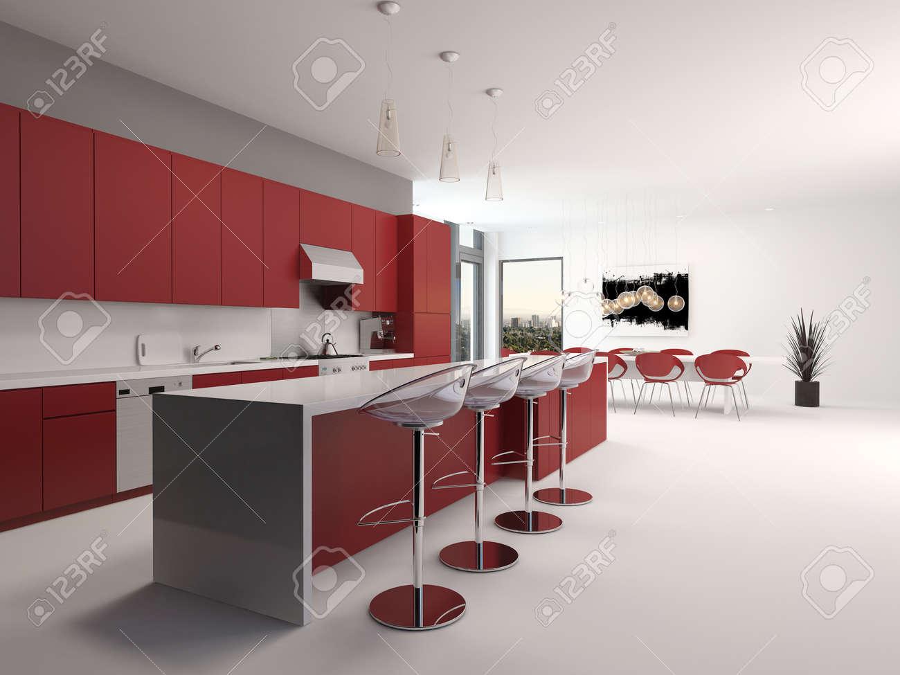 Isola cucina con sgabelli cucina laccata bianco e grigio con isola