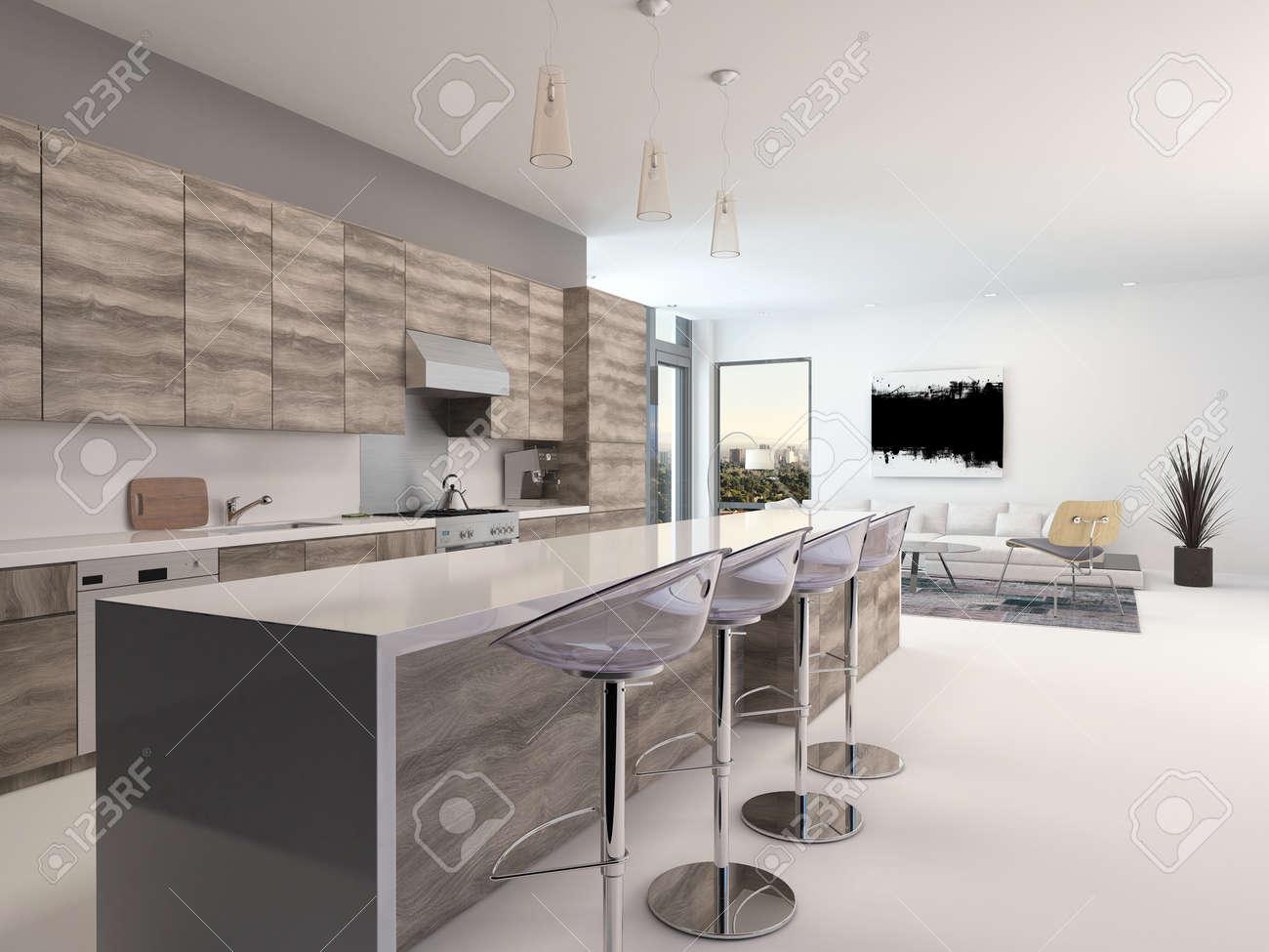 Cucina Americana Design | Arredamento Cucine Americane Simple With ...