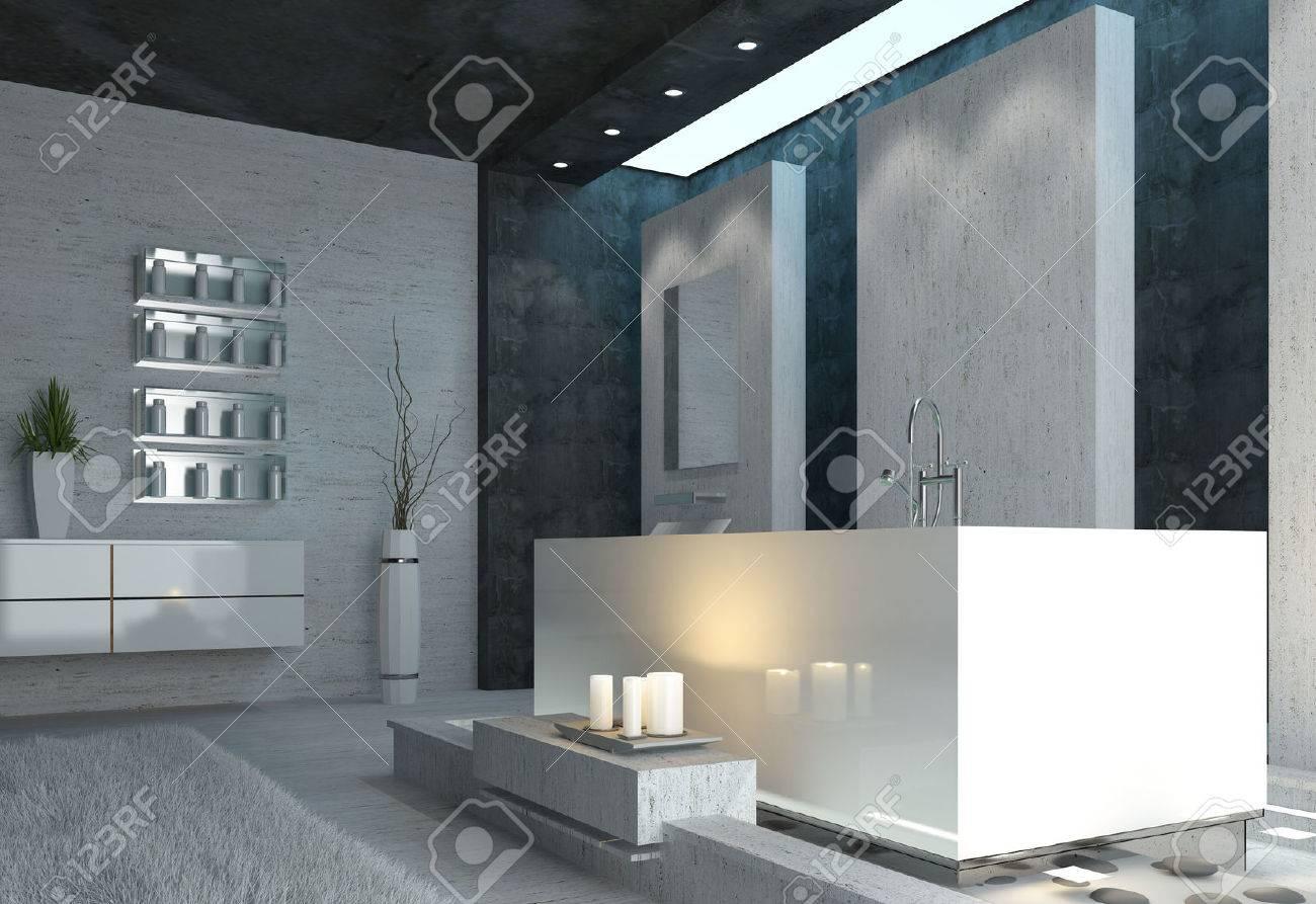 Badezimmer Schwarz Grau | 20 Inspirierend Modern Badezimmer Schwarz Weis