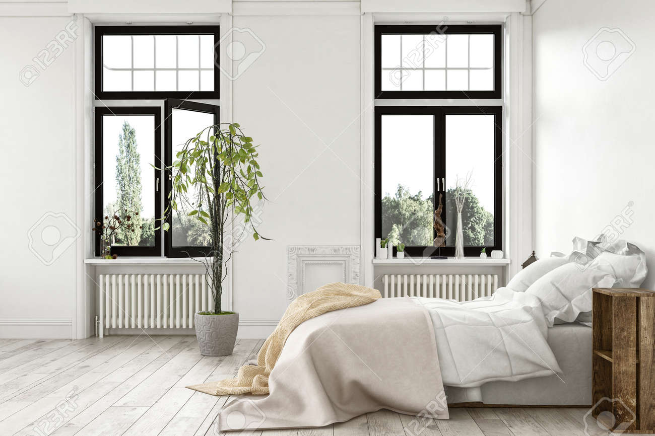 Luxus Schlafzimmer Stock Photo