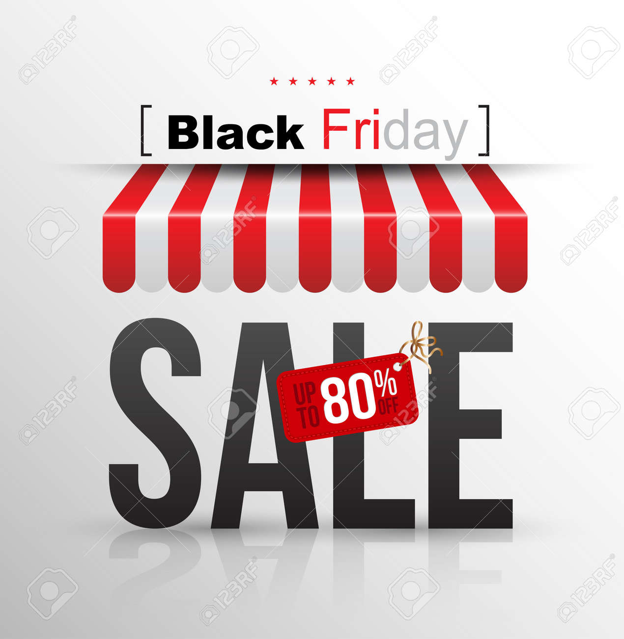 Black Friday Wochenende Stock Photo