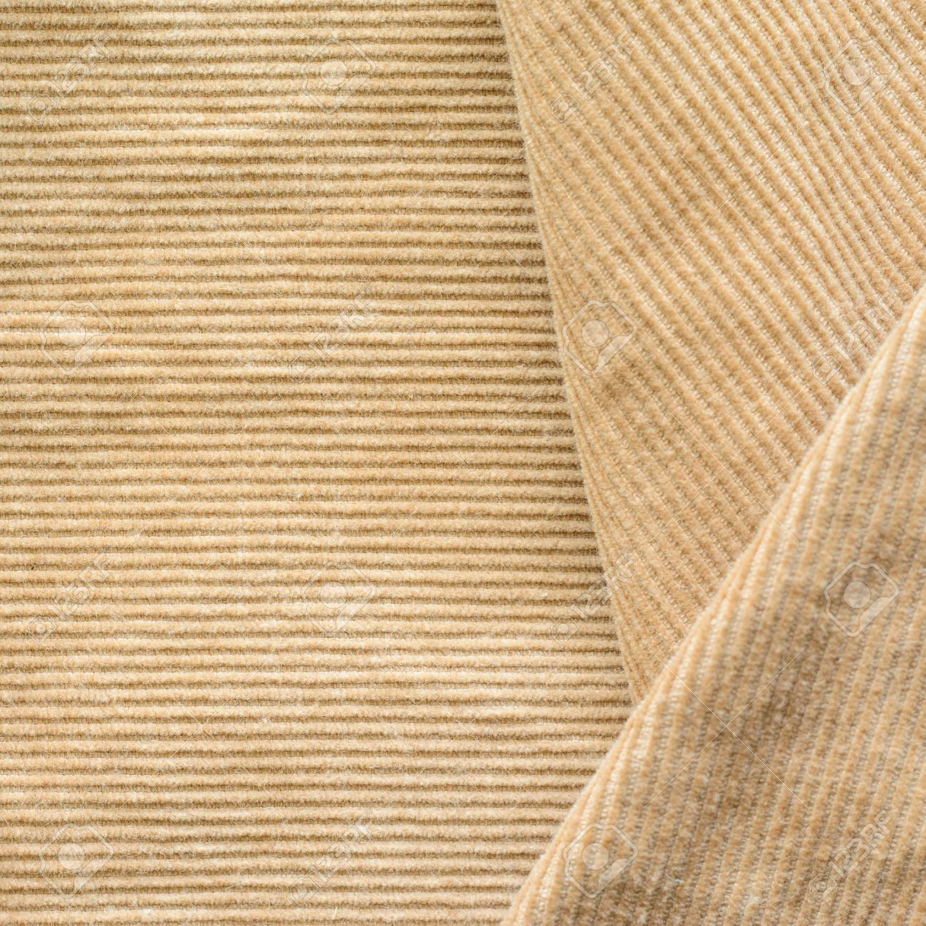 Texture Of Beige Velvet Clothes Geometric Pattern Neatly Stacked Stock Photo Picture And Royalty Free Image Image 107168503