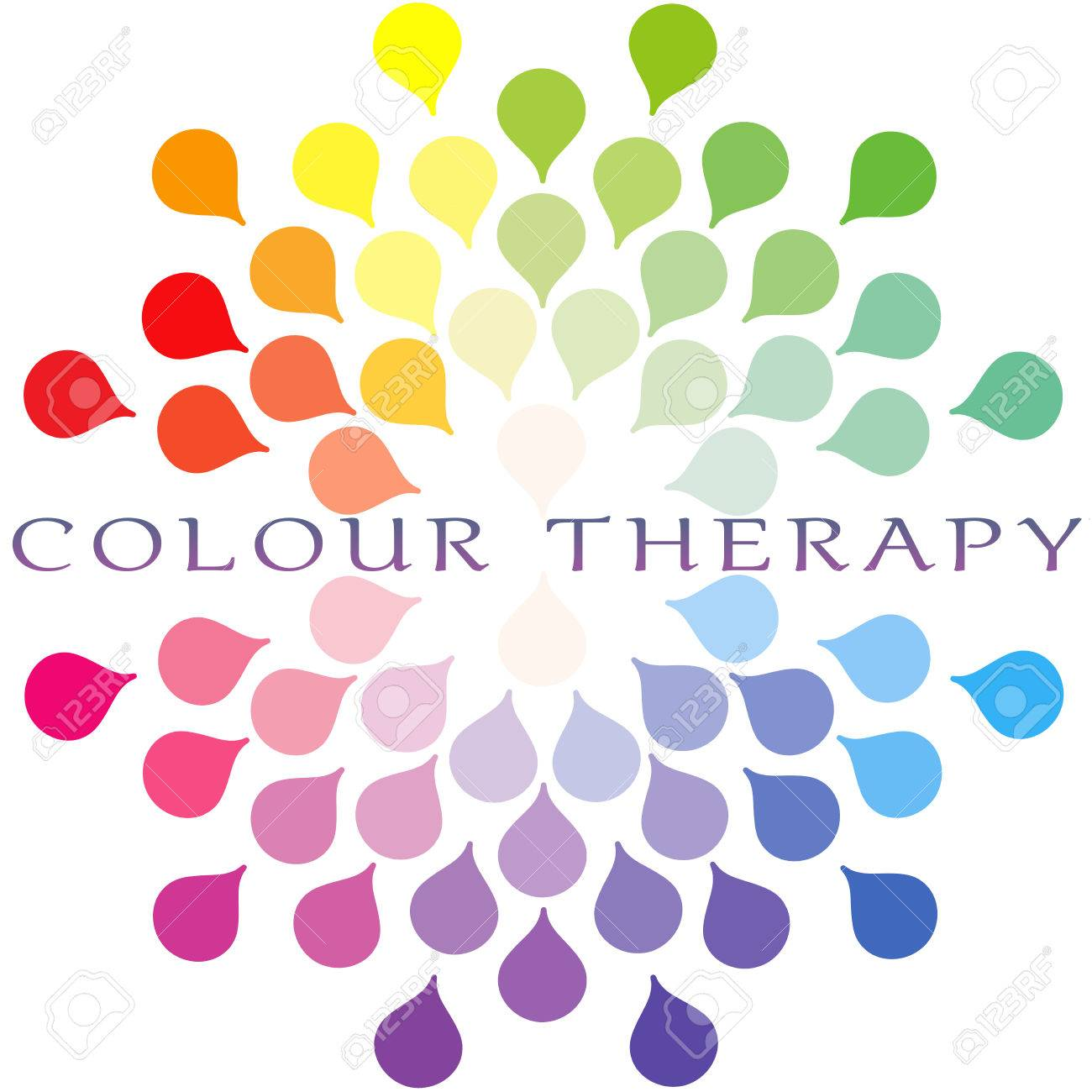 Colour therapy for digestion - Colour Therapy Colour Spectrum Logo Stock Photo 40674674 Download Color Therapy For Healing