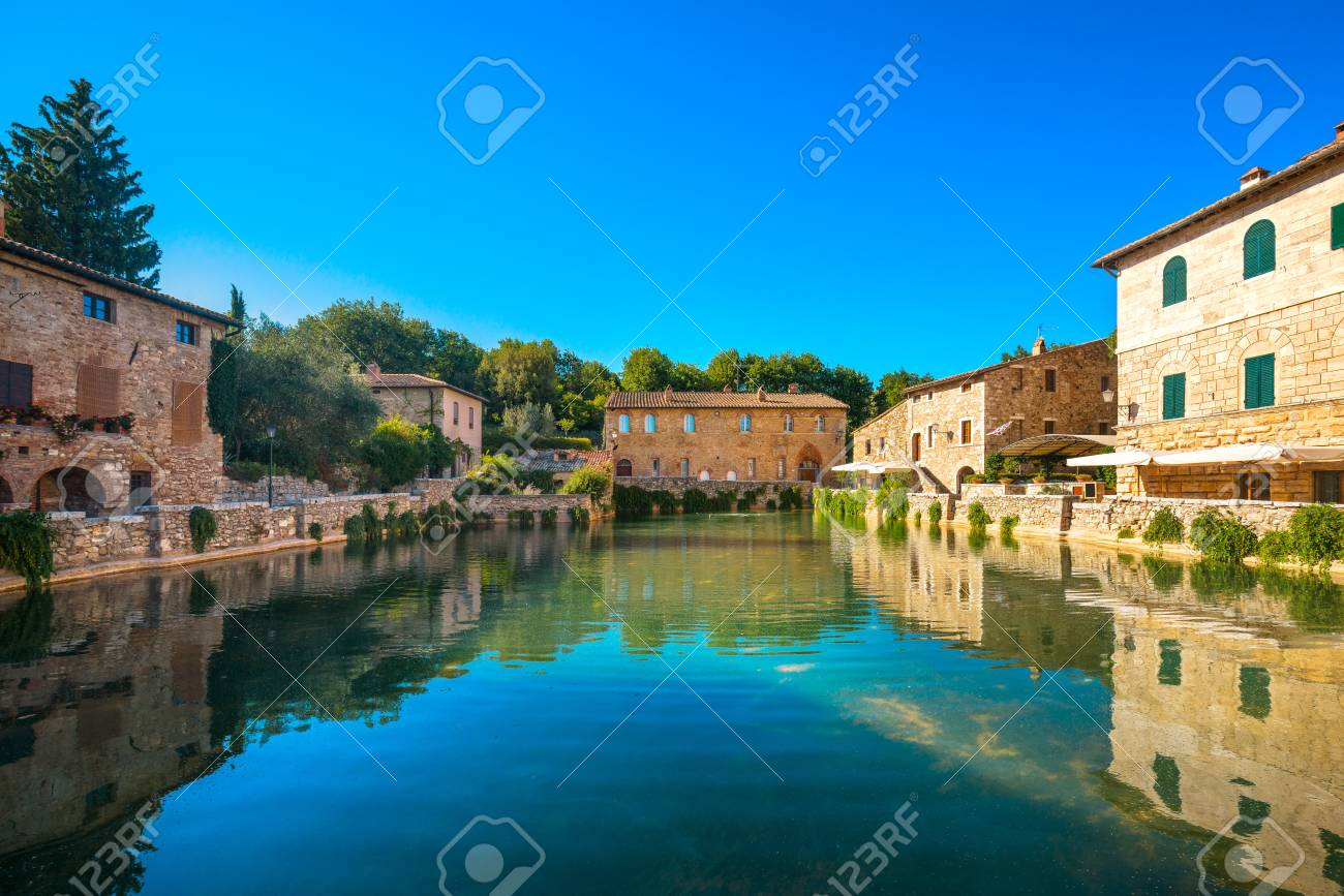 Bagno Vignoni Free Thermal Baths Bagno Vignoni Village Medieval Thermal Baths Or Hot Pool Tuscany