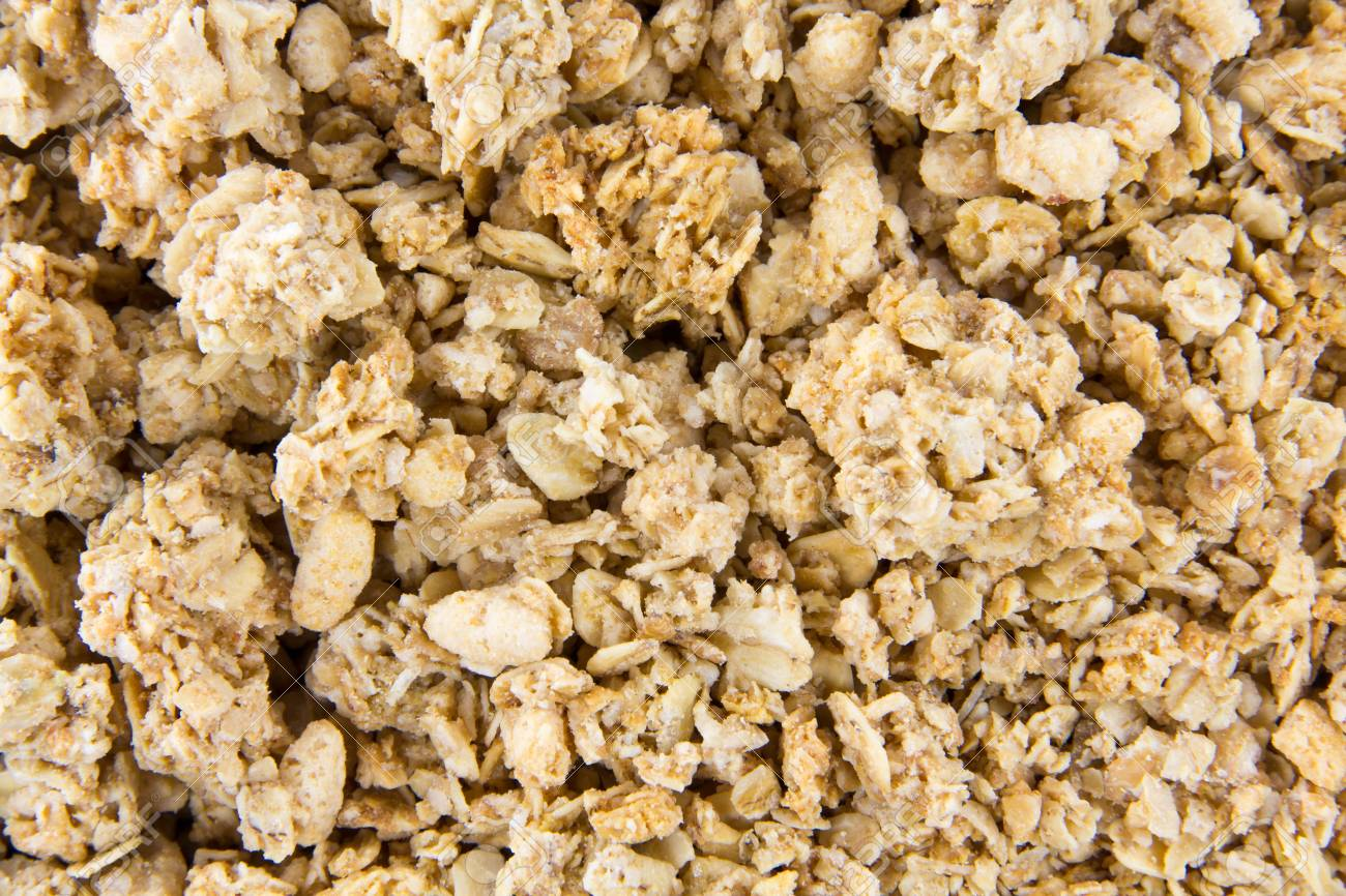 Müsli Crunchy Closeup Picture Of Crunchy Musli Mixed Together