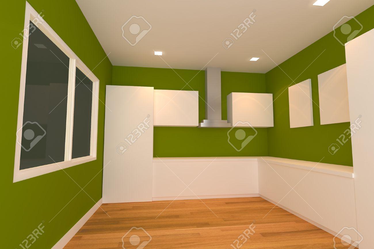 Holz Kuche Grune Wand Kuche Wandfarbe 40 Ideen Fur Farbgestaltung