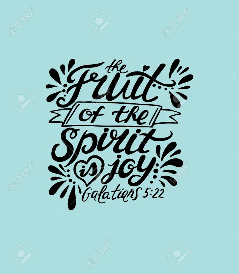 Large Of Bible Verse About Joy