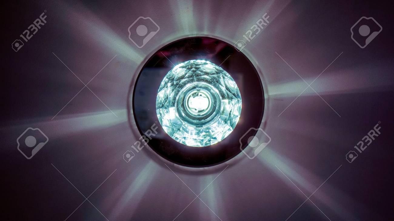 Kristallen Plafonniere : Lampe mit kristallen 6 armiger kronleuchter silber farben