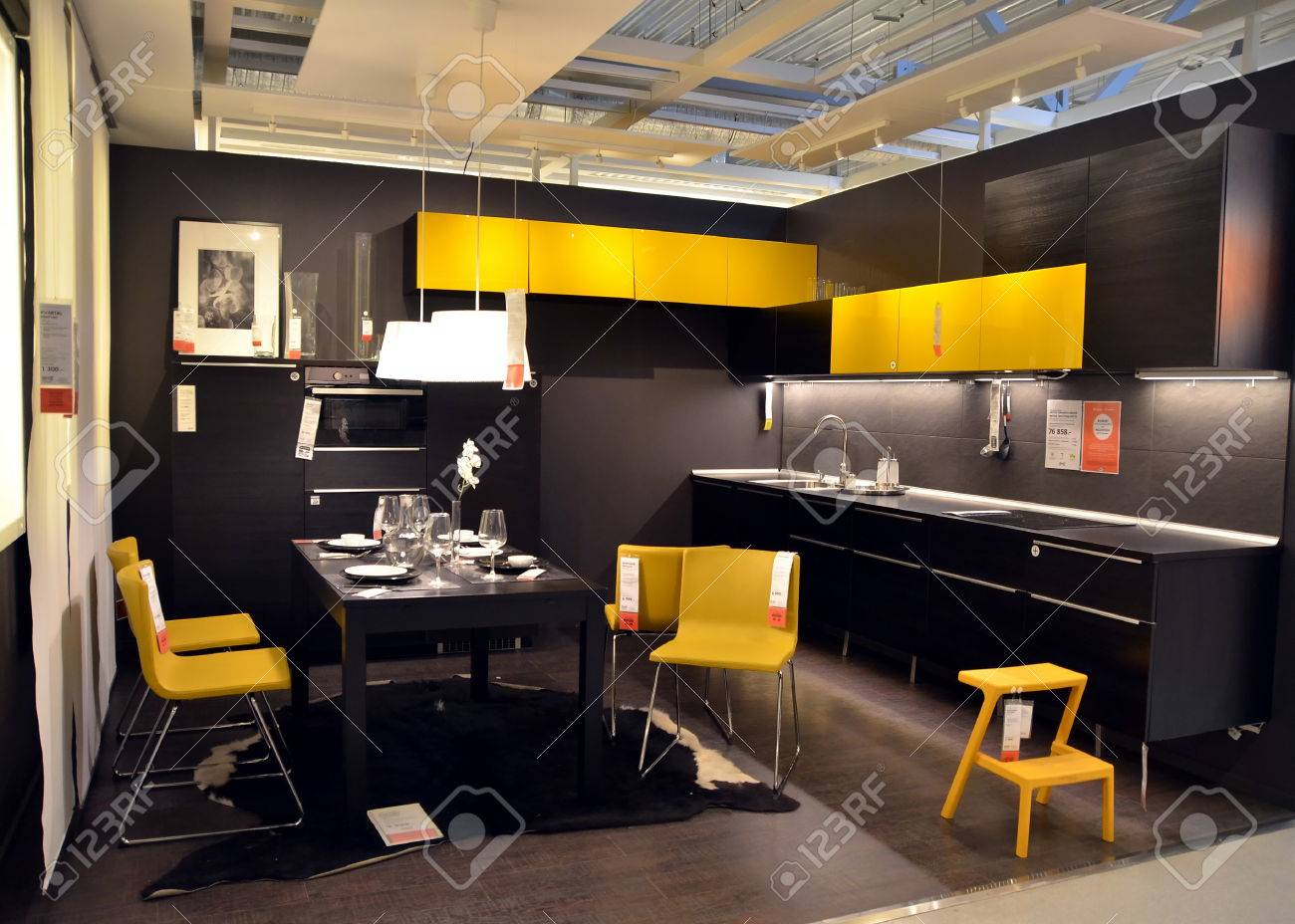 Interieur Ikea Kitchen Interior In The Ikea Store In St Petersburg