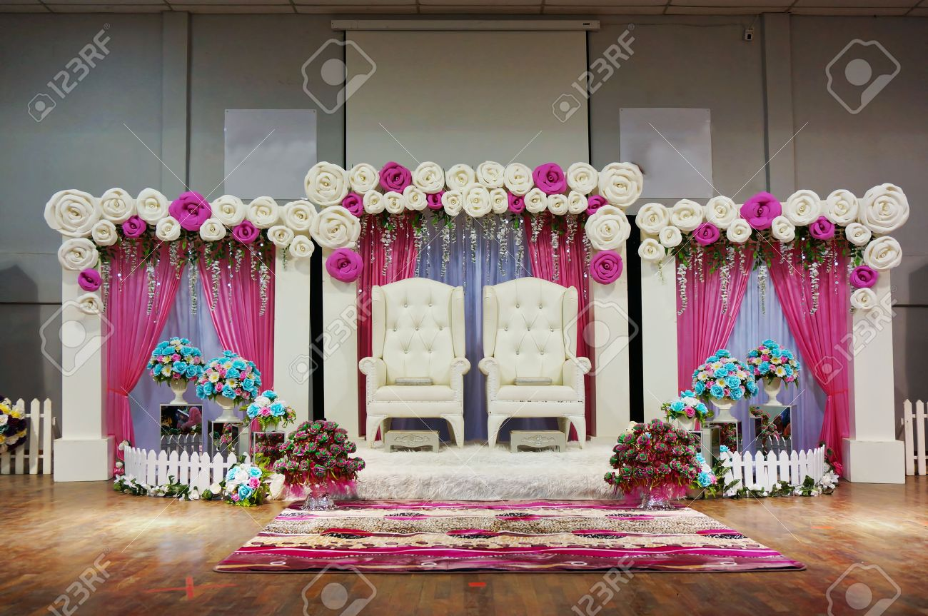 Stage Decoration Malay Traditional Wedding Stage Decoration