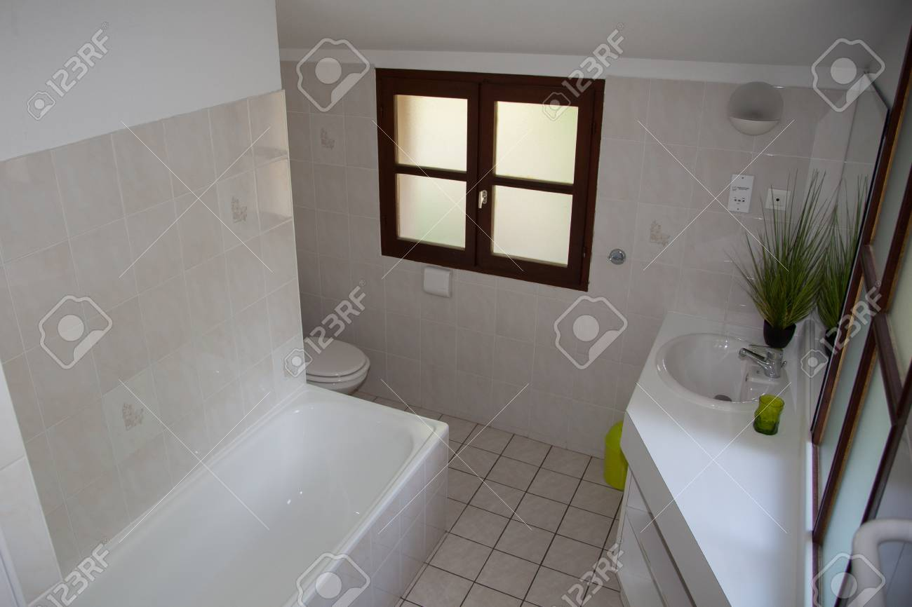 Ultra Moderne Badezimmer Stock Photo