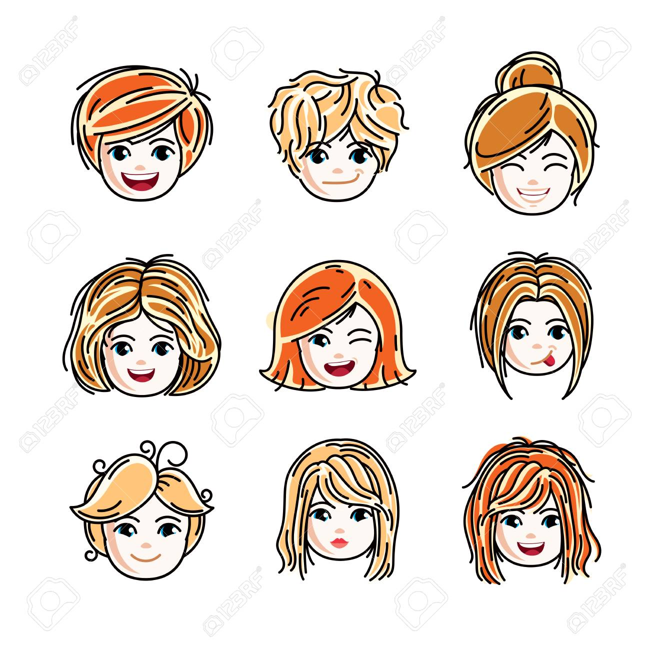 Jugendlicher Cool Clipart Stock Photo