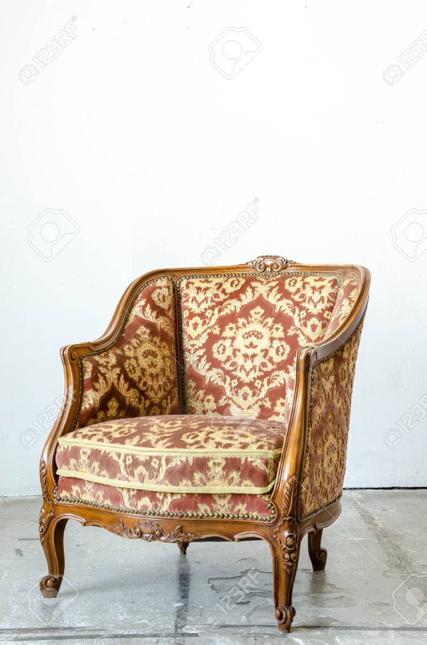 Sessel Und Sofa Stock Photo