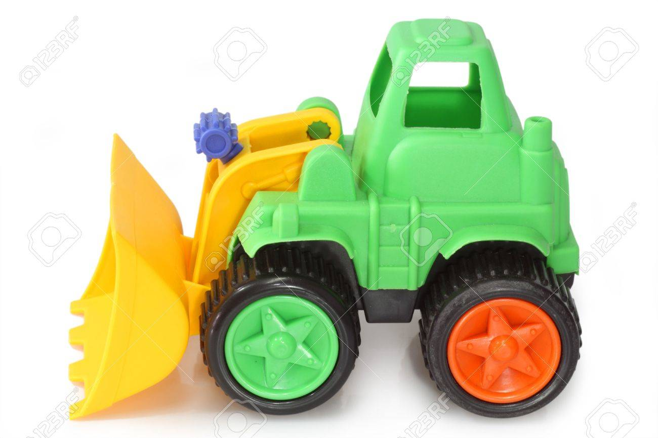 Digger Toy Colourful Childs Toy Digger Lorry Or Truck