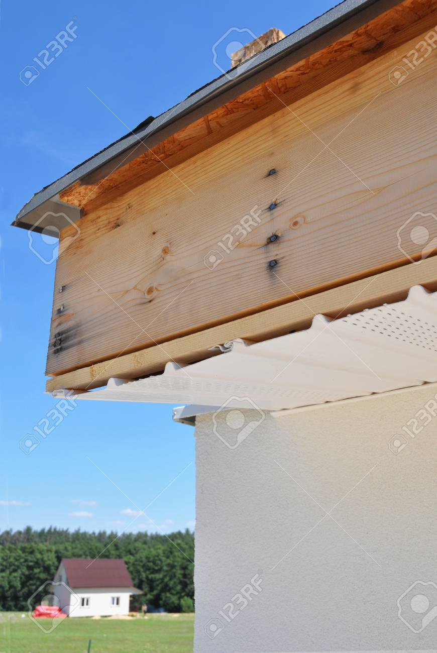 Fascia Board Soffit Board And Fascia Board Installation Repair Roofing Construction