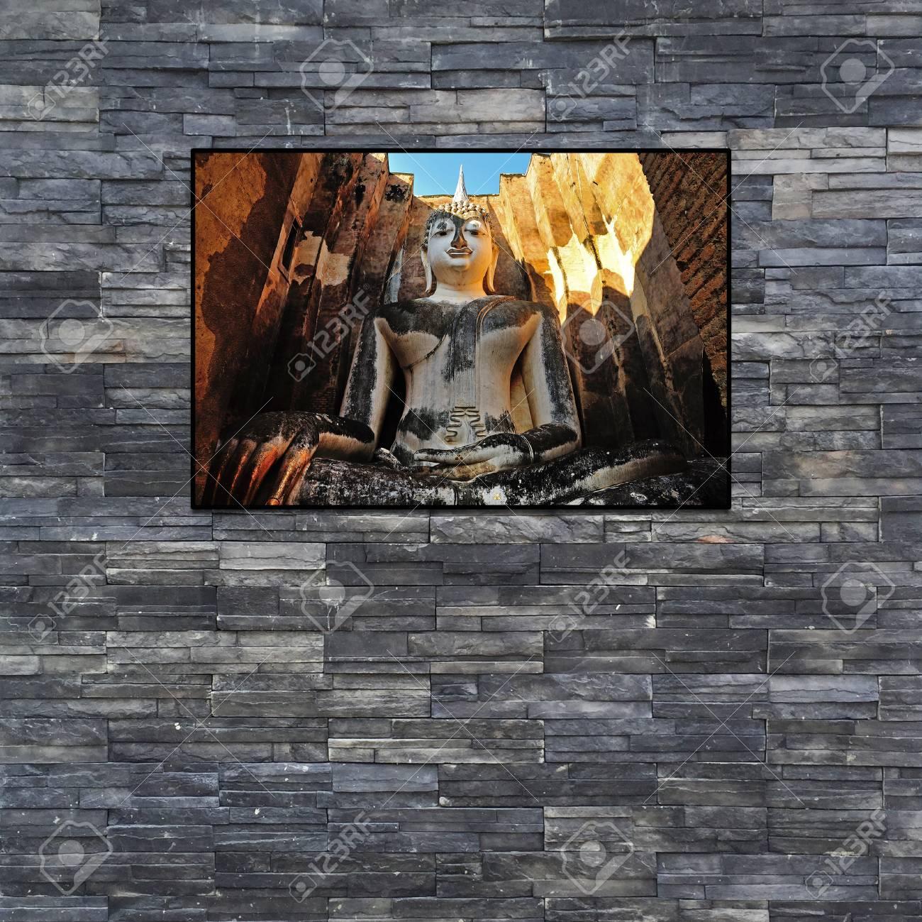 Deco Interieur Mur Noir | Déco Pierre Pour Les Murs De La Cuisine En ...