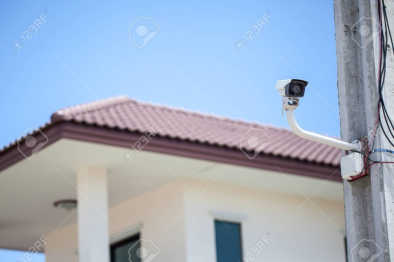 Cctv Home Cctv Camera With Home Background