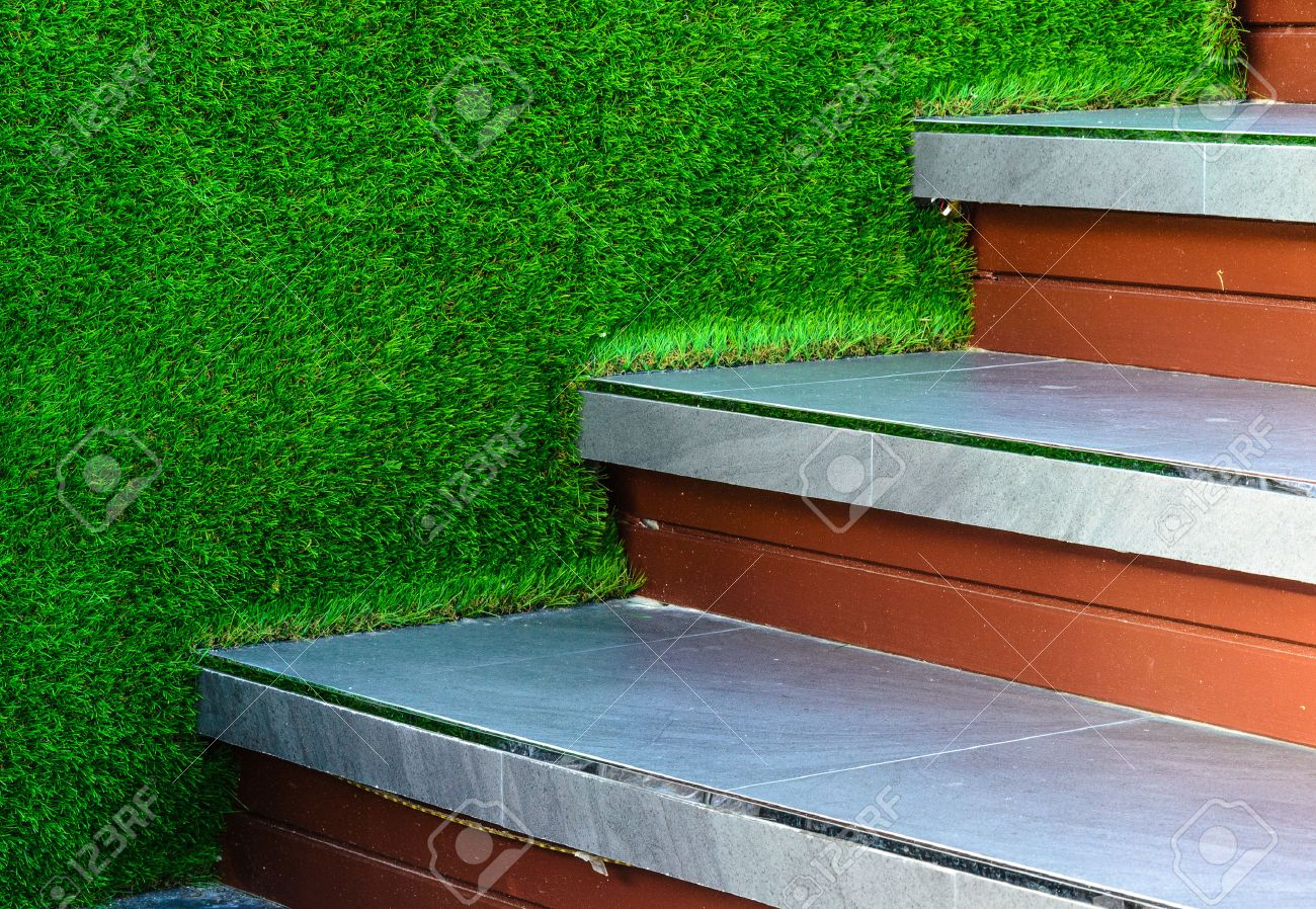Bilder Moderne Gartengestaltung Stock Photo