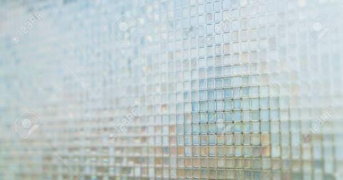 Medium Of Blue Glass Tile