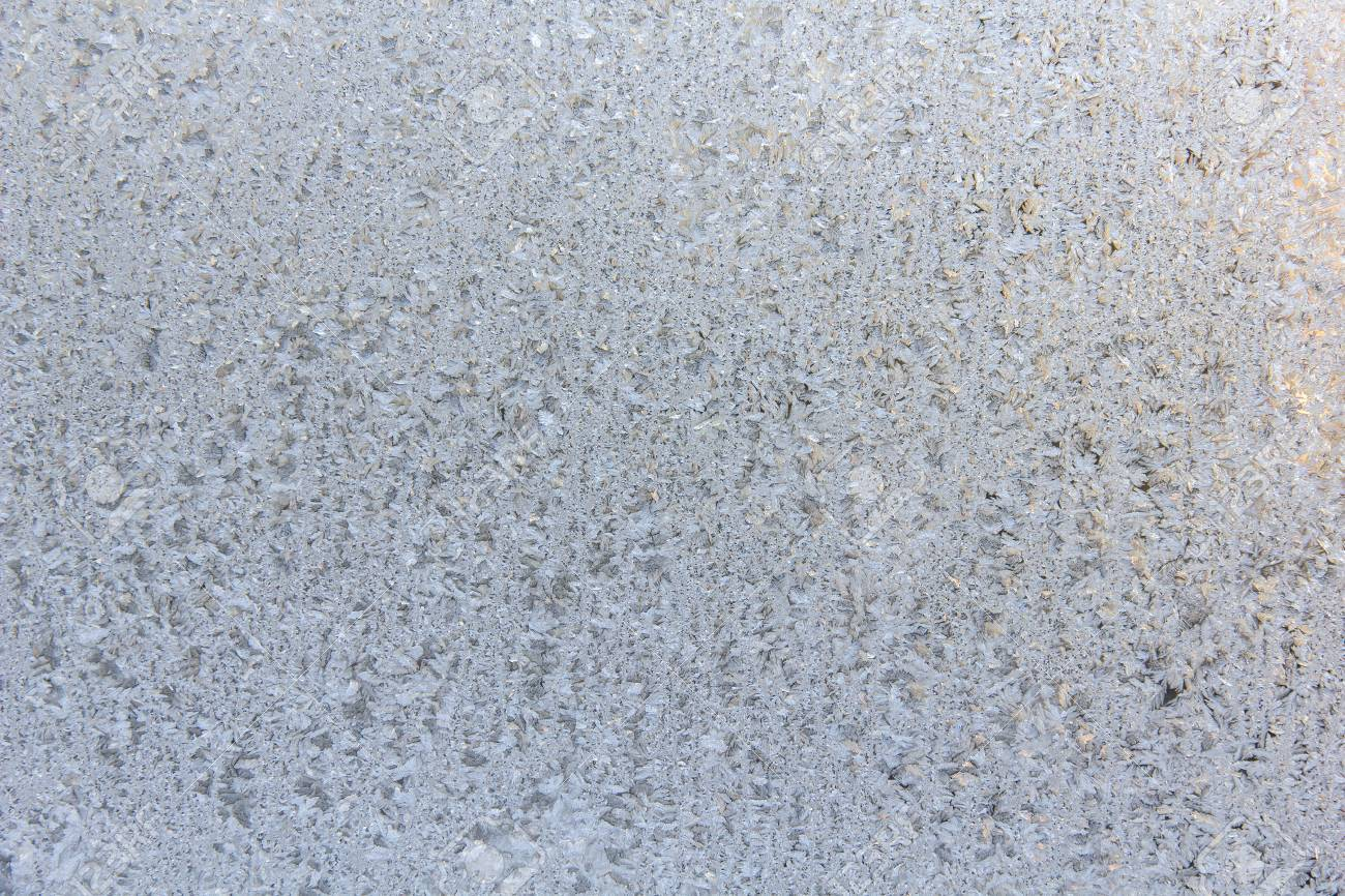 Milchglas Textur Frosted Glass Texture Winter Background