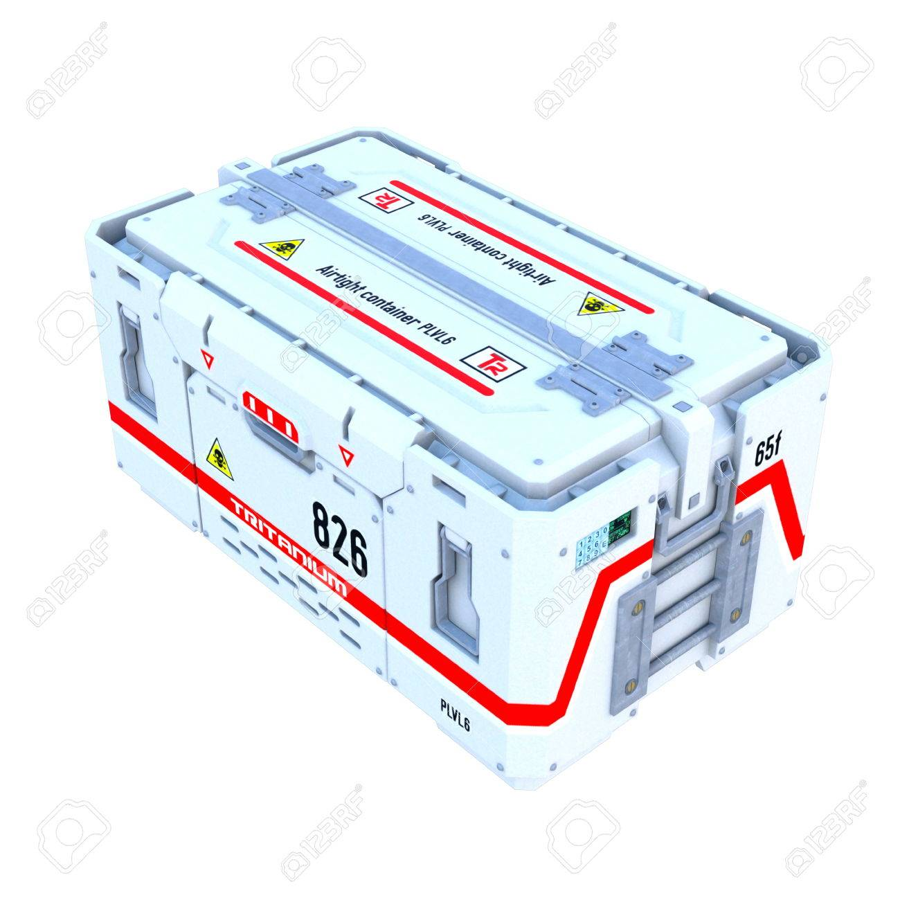 Luftdichte Box Stock Photo