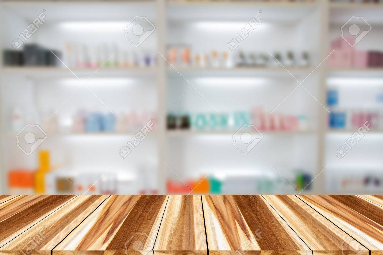 Apotheke Schrank Stock Photo