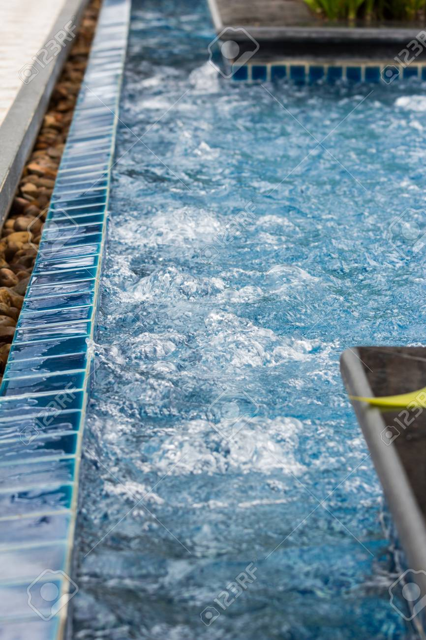 Jacuzzi In The Pool Beautiful Water Pressure Of Jacuzzi In Swimming Pool