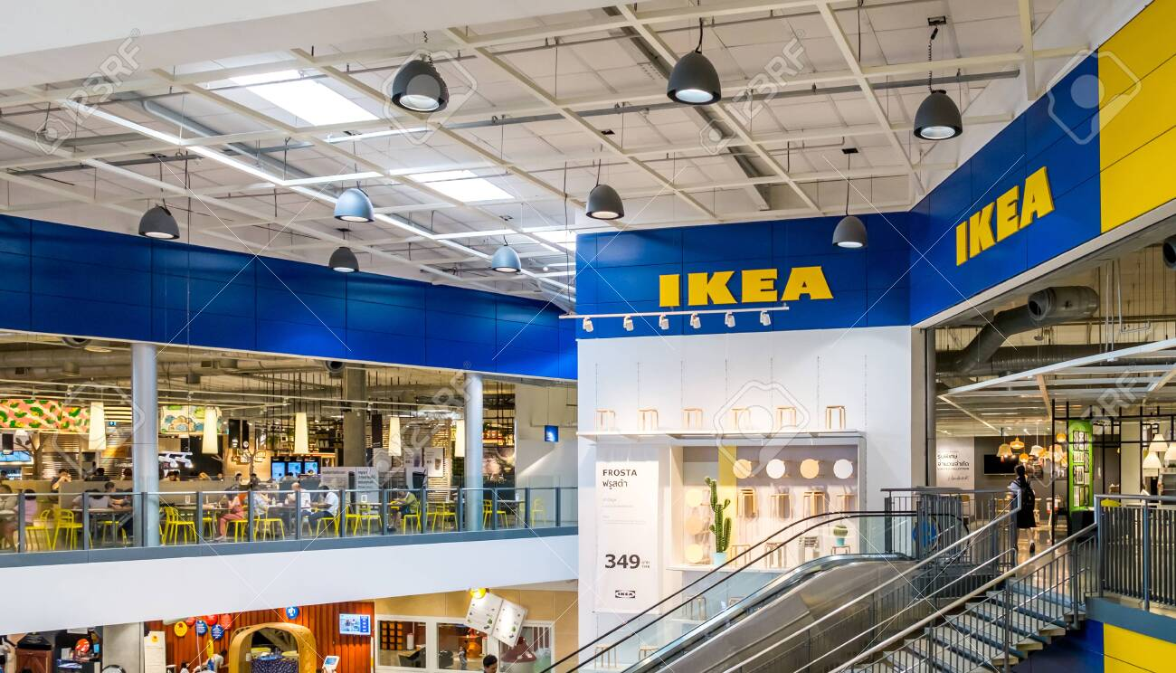Ikea Front Samut Prakan ,thailand - May 17,2018 : Front Shop Of Ikea Thailand.. Stock Photo, Picture And Royalty Free Image. Image 136764805.