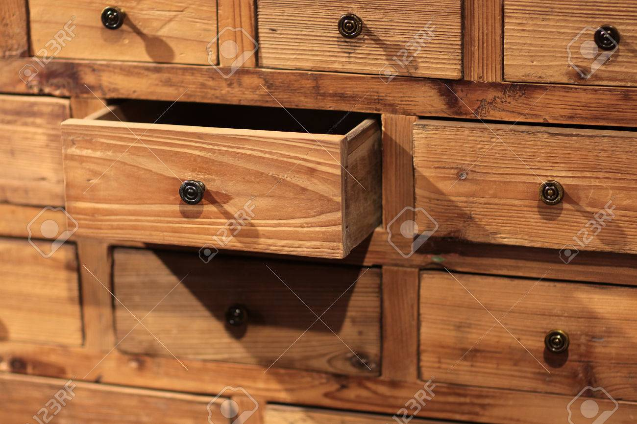 Alte Sideboards Stock Photo